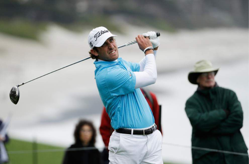 Ex-LSU golfer Andrew Loupe hopes for big week at Zurich Classic _lowres