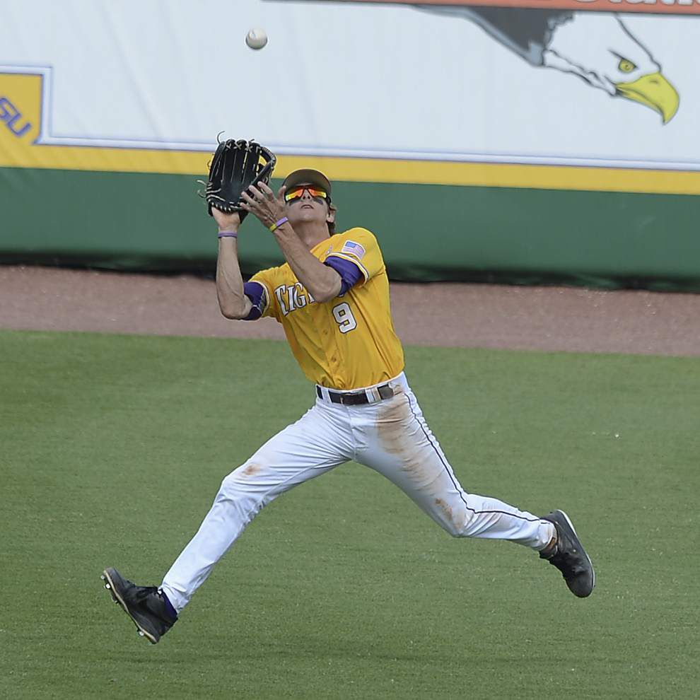 Stellar defense came to LSU's Mark Laird naturally ... and out of necessity _lowres