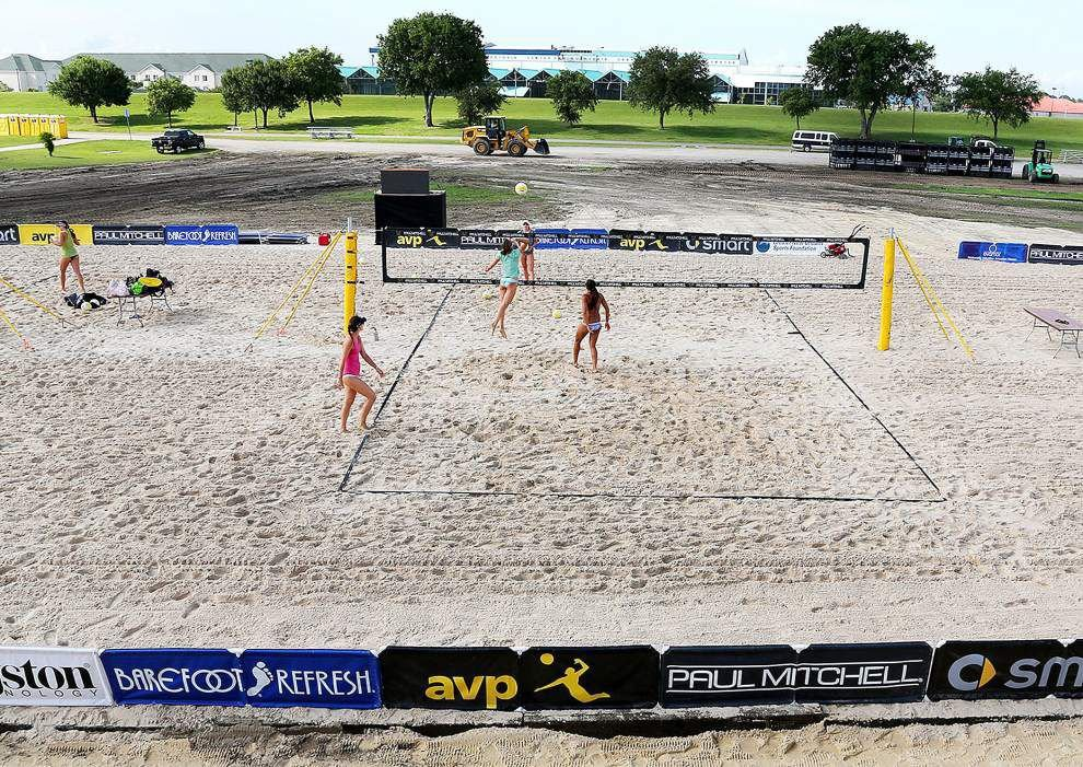 As pro beach volleyball tournament in Kenner rolls on, officials think event can become a local staple _lowres