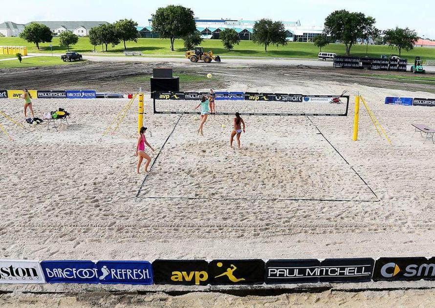 As pro beach volleyball tournament in Kenner rolls on, officials think event can become a local staple