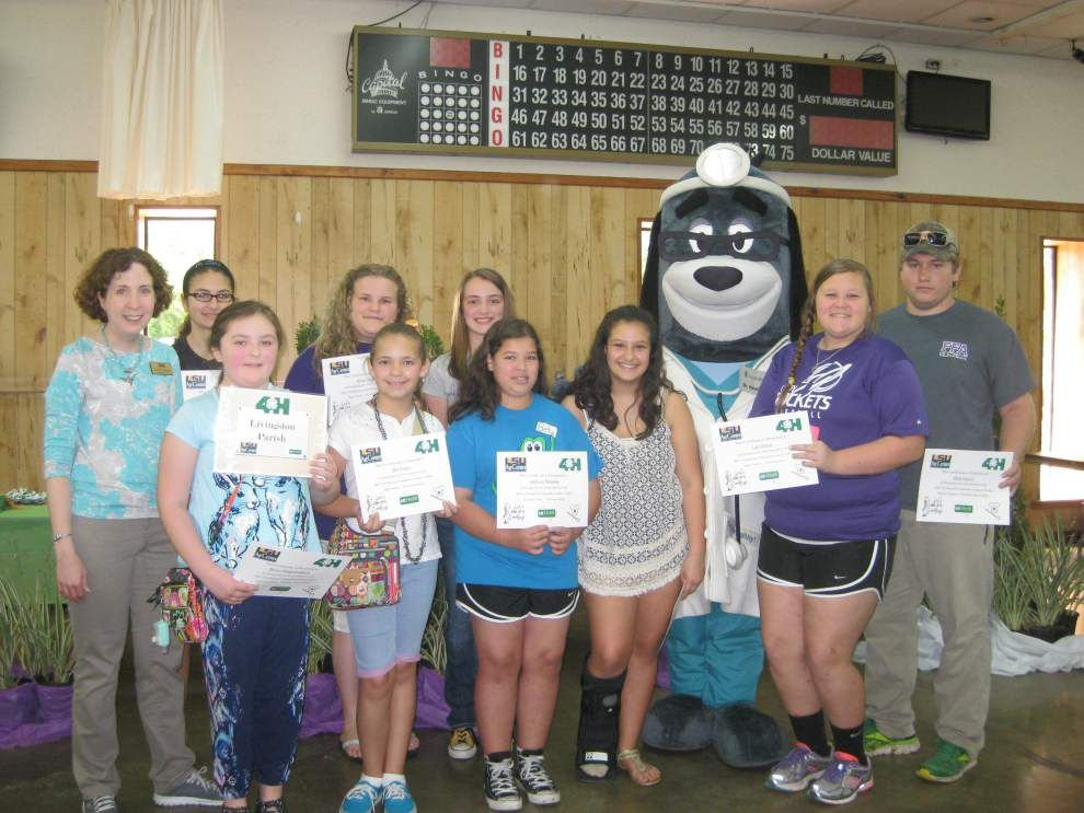 Livingston 4-H members compete in Cookery Contest _lowres