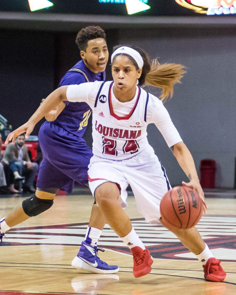 Cajuns survive hot-handed Norianna Haynes to beat Alcorn _lowres