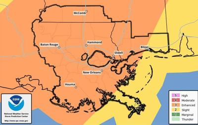 Severe weather outlook for April 18, 2019