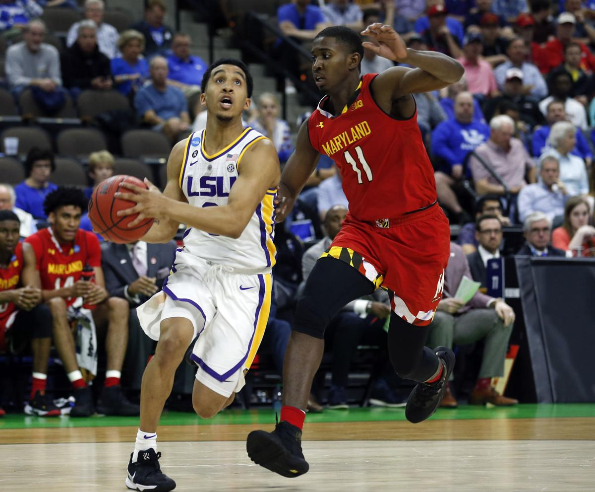 NCAA Maryland LSU Basketball