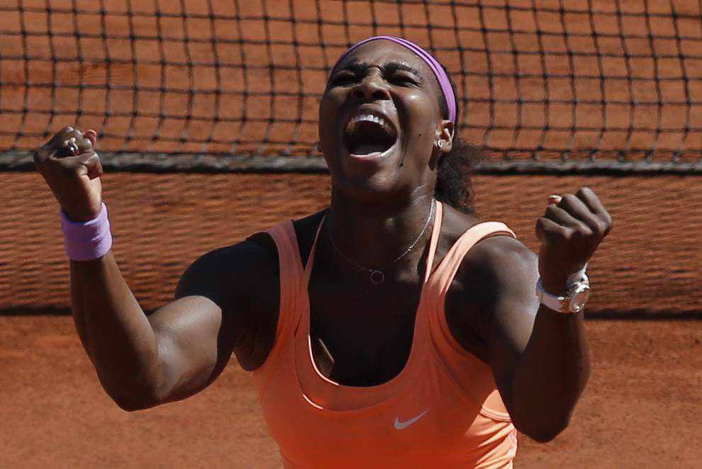 Serena Williams captures French Open for 20th major _lowres