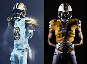 10fcfe846 Vote now in our football fashion face-off as LSU Tigers