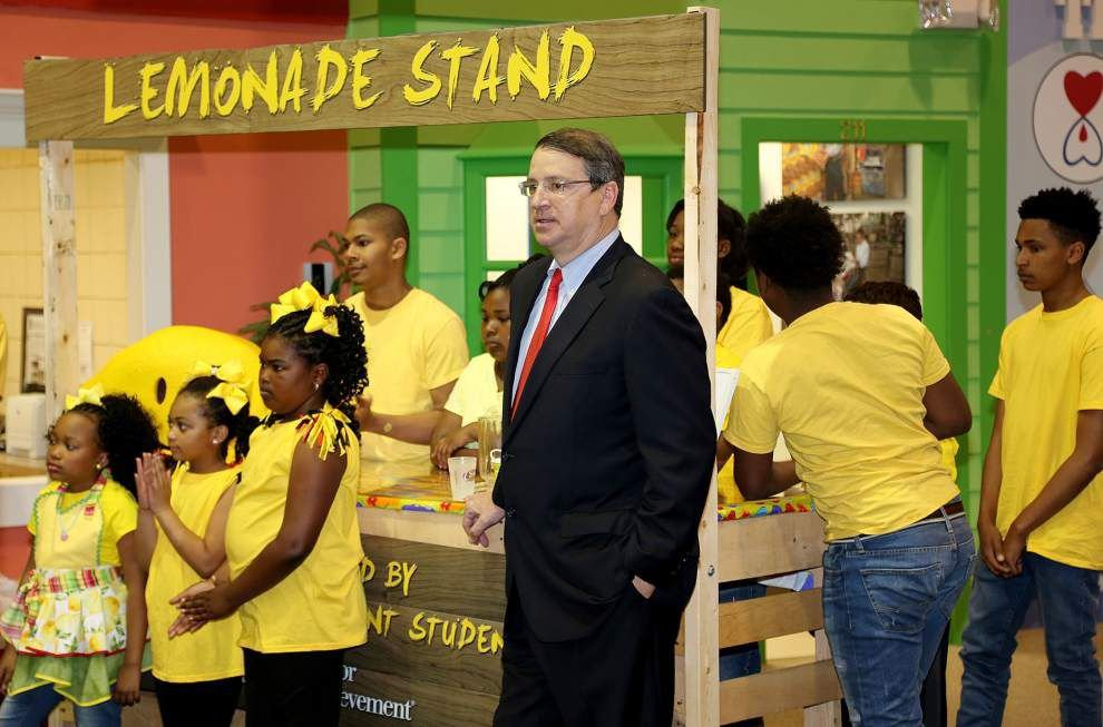 Business leaders kick-start Lemonade Day Louisiana event scheduled April 30 _lowres