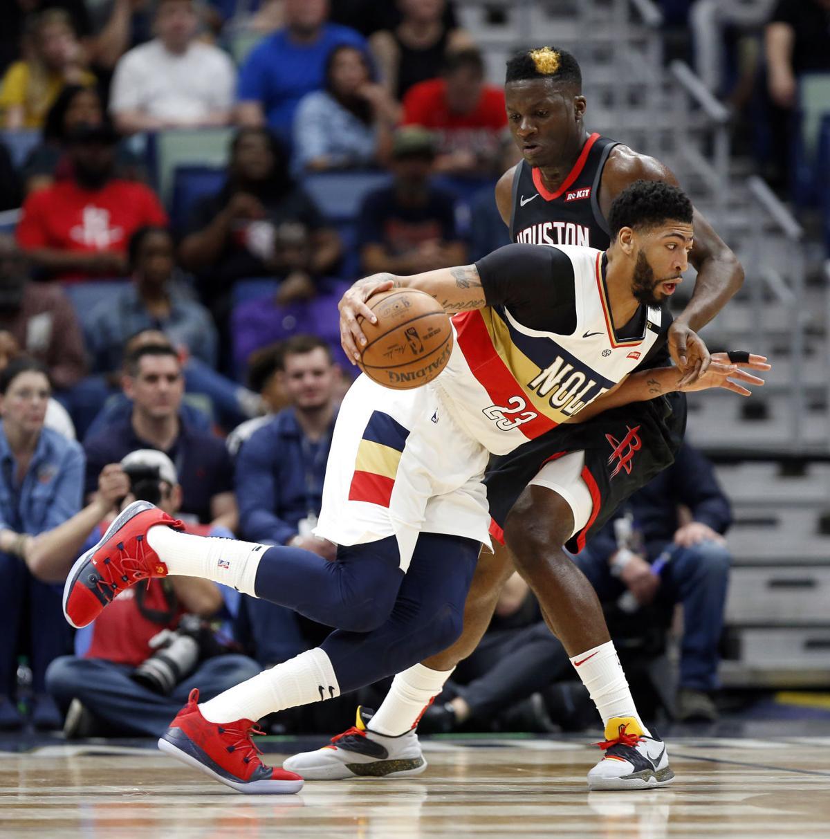 Rockets Pelicans Basketball