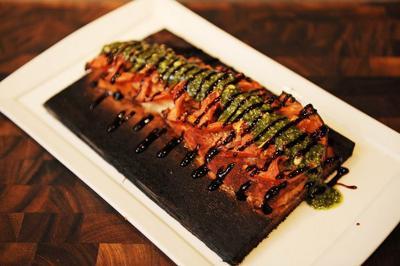 Cedar-Plank Baked Redfish