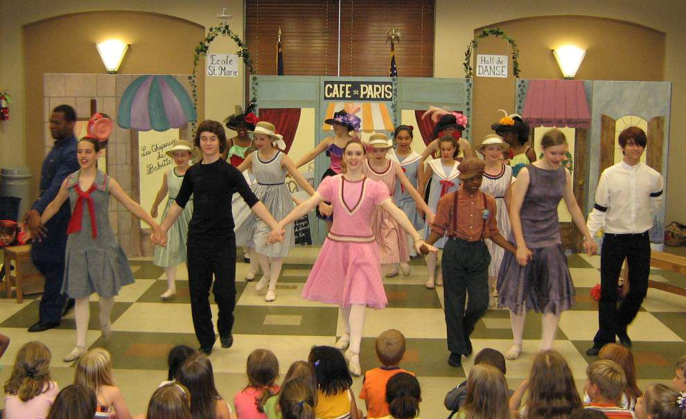 'High Jinx' youth ballet makes stop at Baker, Zachary libraries _lowres