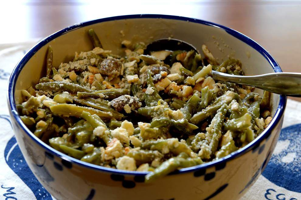 Green Beans and Mushroom Casserole _lowres
