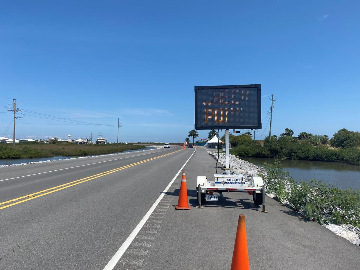 Grand Isle checkpoint 2