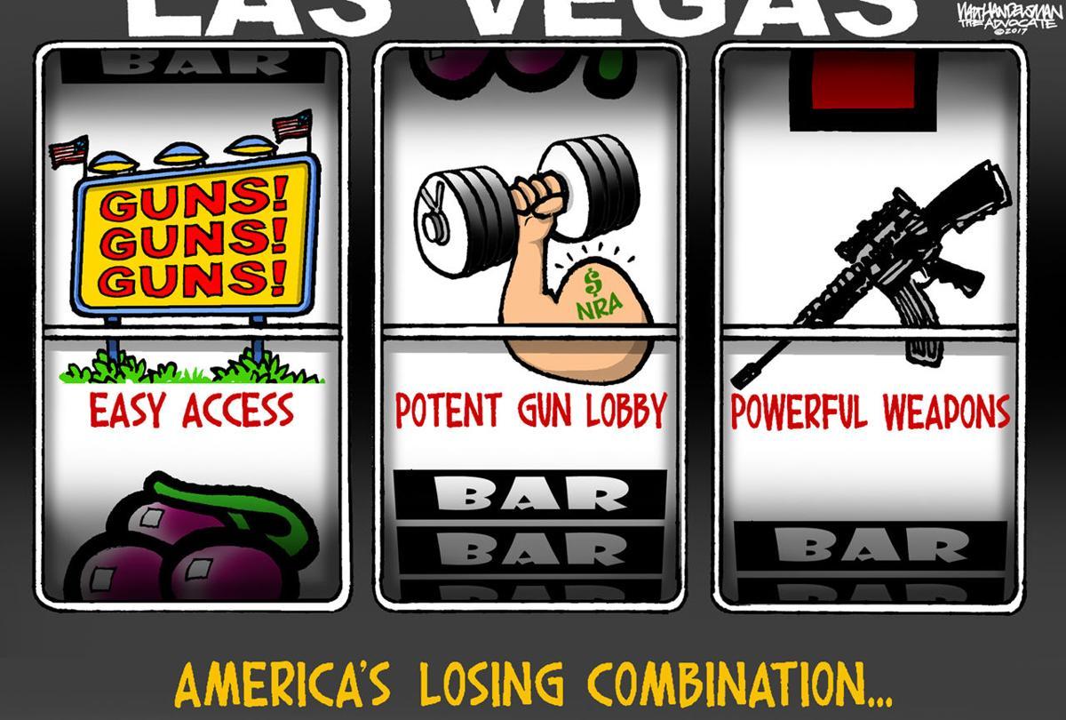 Walt Handelsman: Losing Combination