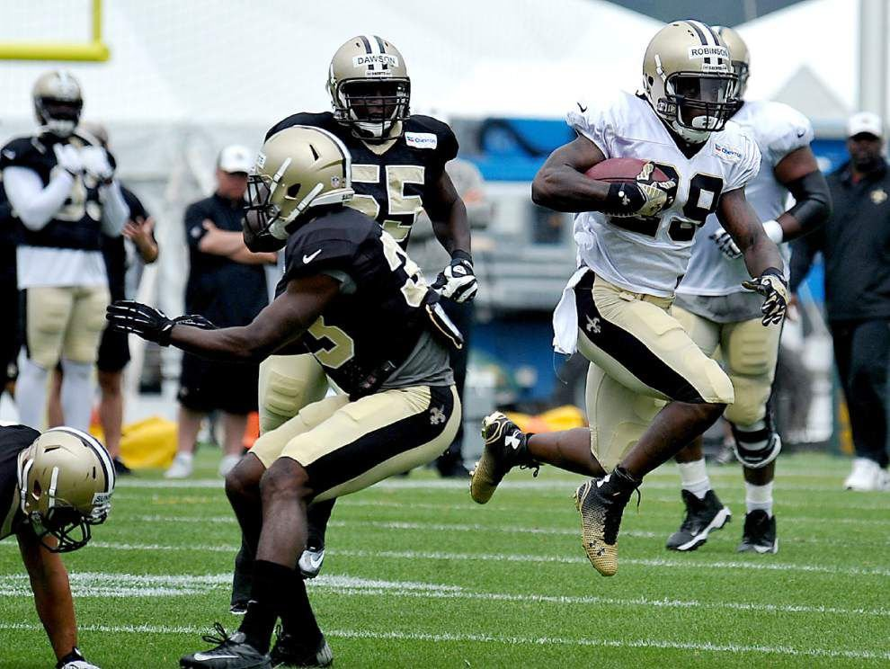 Reports from the Saints' Monday practice _lowres