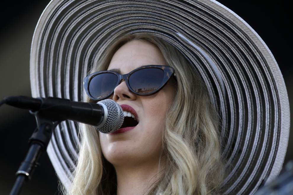 Singer Kristin Diable steps up to Acura Stage at Jazz Fest _lowres