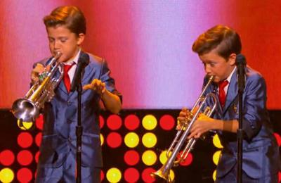 Video: Lafayette identical twins, 11, wow national TV audience with 'When The Saints Go Marching In' _lowres
