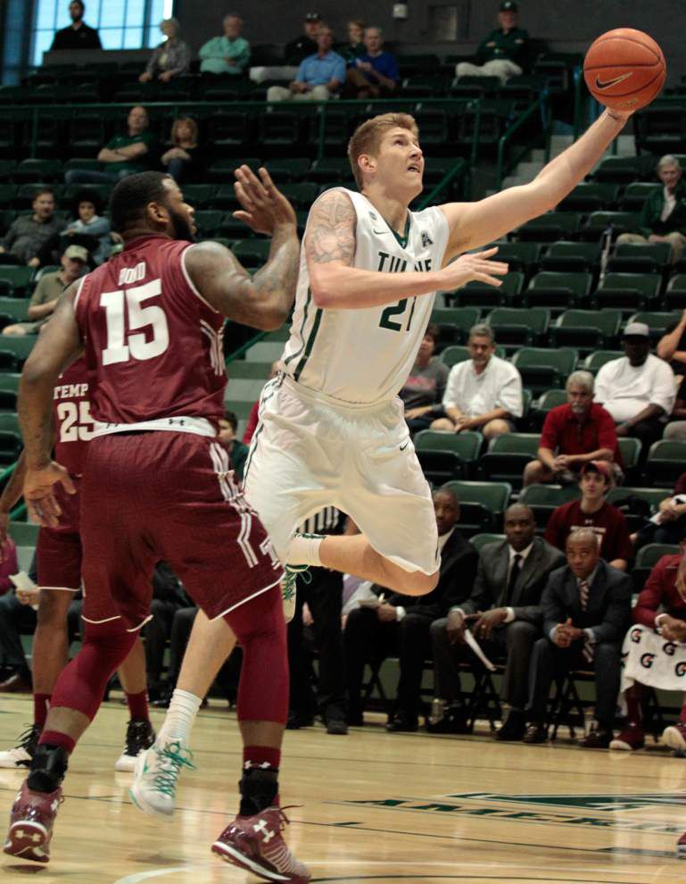 Sophomore forward Dylan Osetkowski announces he will transfer from Tulane _lowres