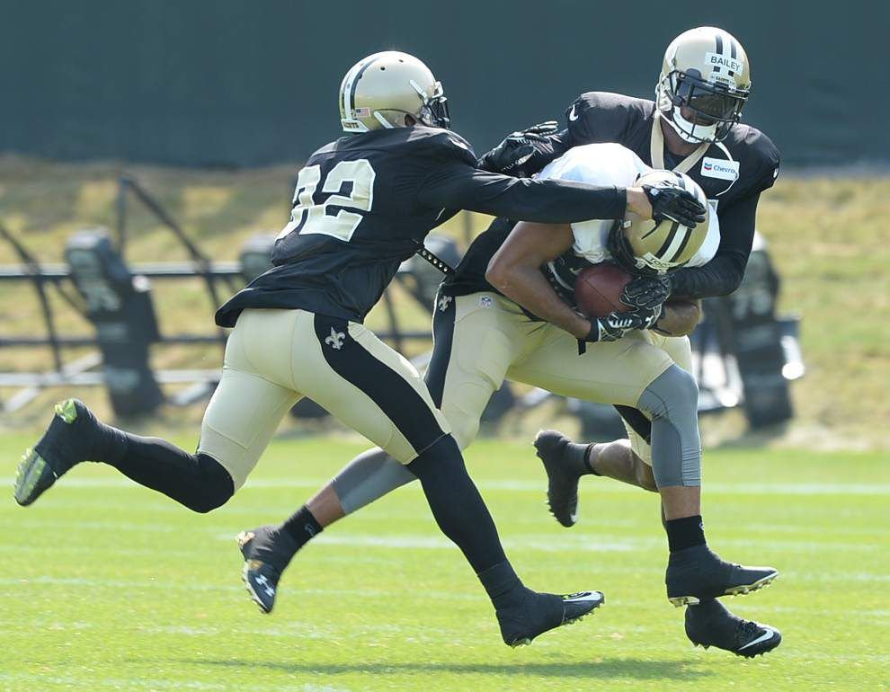 Payton quiet on Bailey, undrafted rookies shine, Cadet looks comfortable _lowres