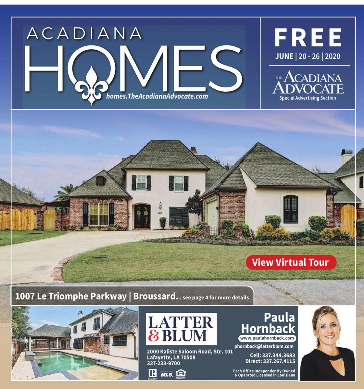 Acadiana Homes - June 20, 2020