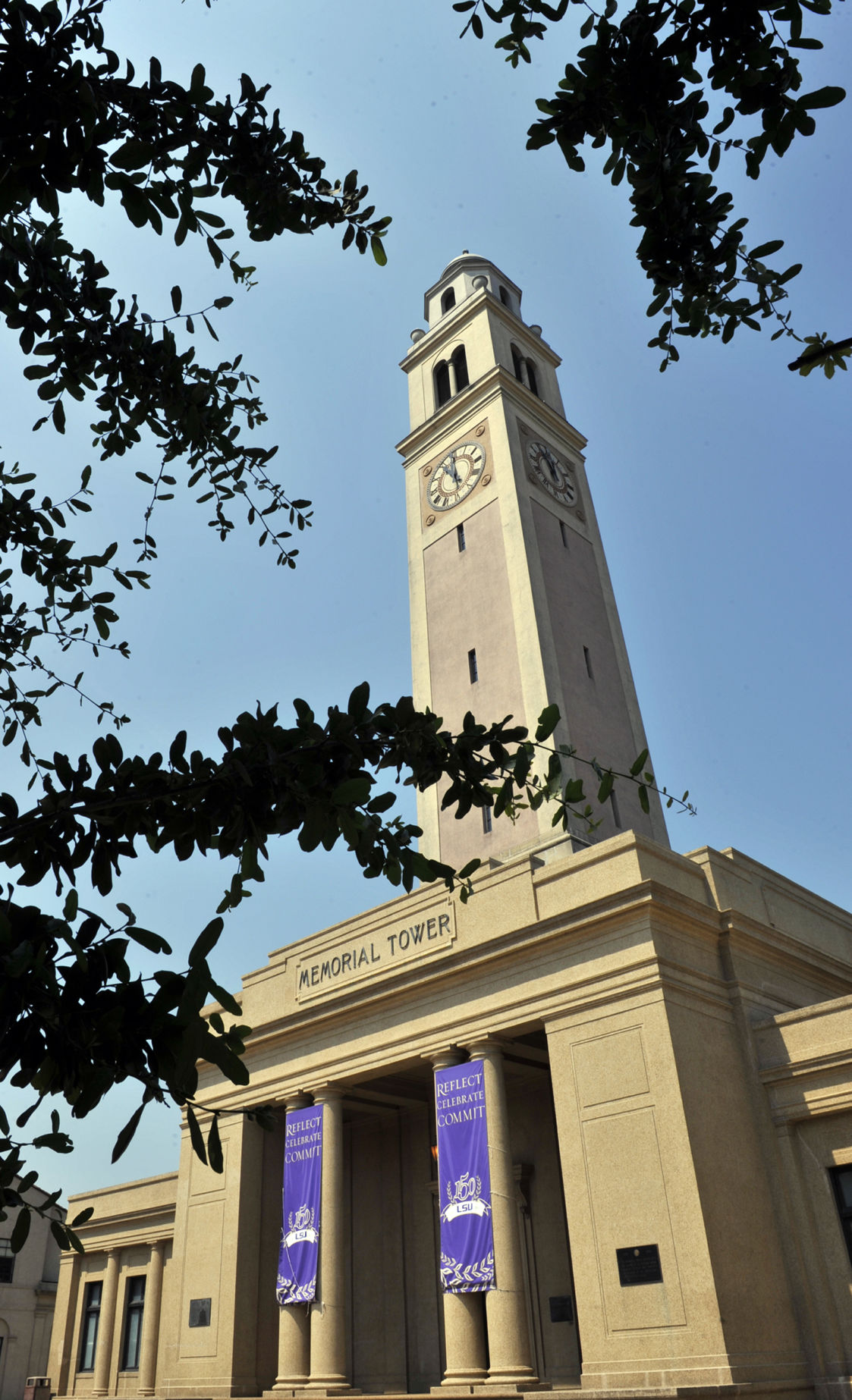 LSU Memorial Tower campus