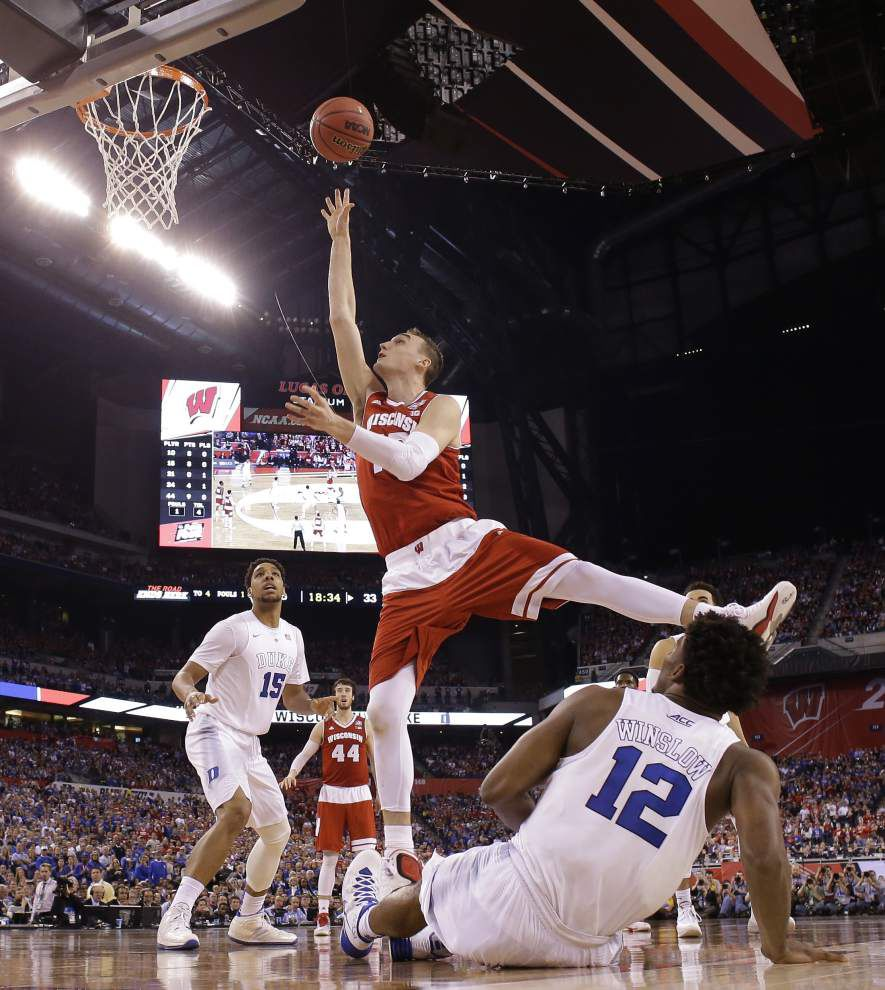 Duke rallies past Wisconsin to give Coach K his fifth national title _lowres