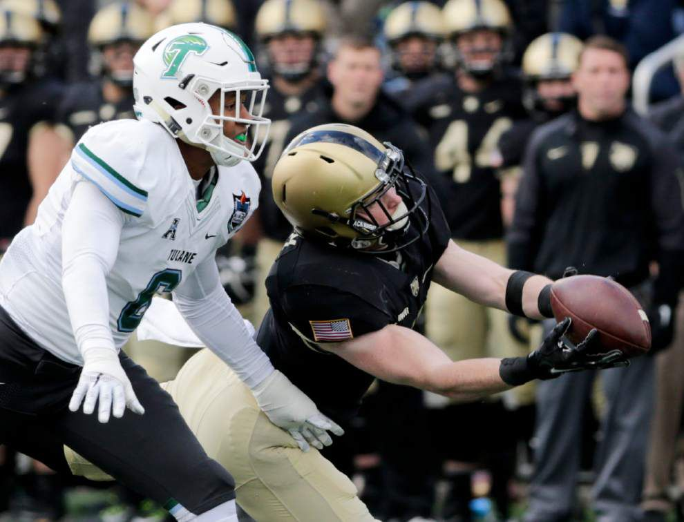 Tulane tops Army 34-31 on Andrew DiRocco's 35-yard field goal as time expires _lowres