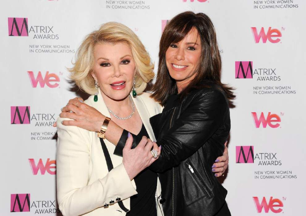 No lazy Rivers: 'Joan & Melissa' return to action _lowres