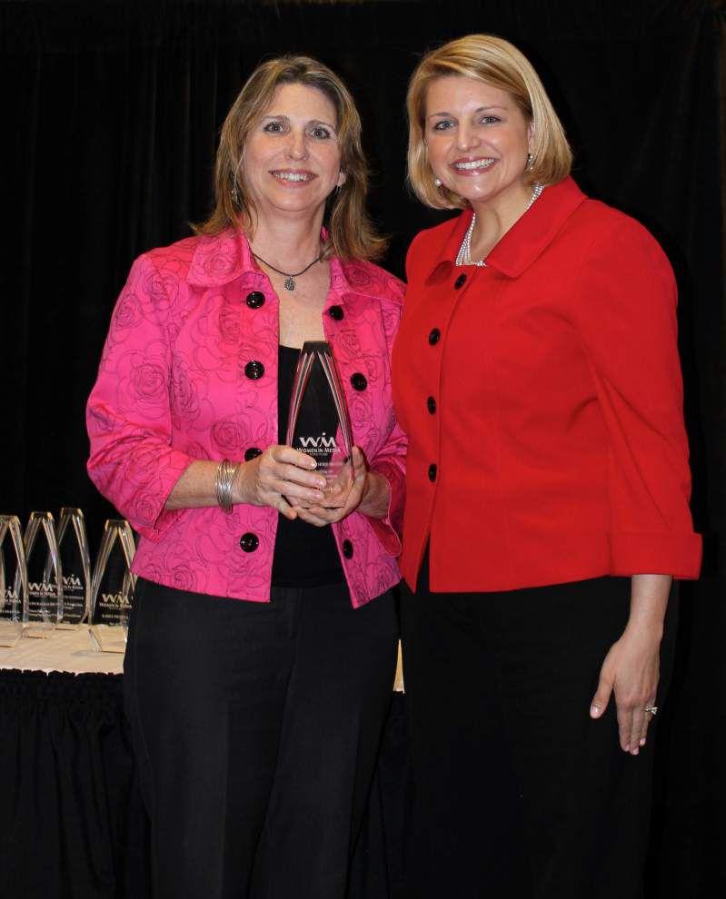 LRMC's McLin receives Women In Media award _lowres