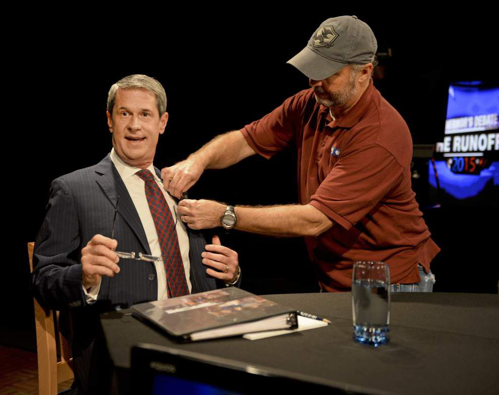 Number of people 'Googling' David Vitter skyrockets during debate vs. John Bel Edwards _lowres
