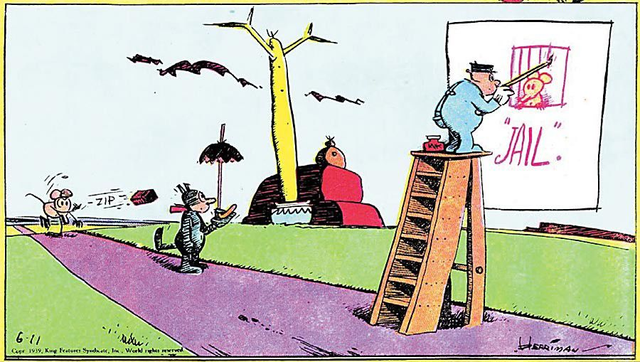 A most curious Kat: George Herriman, New Orleans-born creator of Krazy Kat_lowres