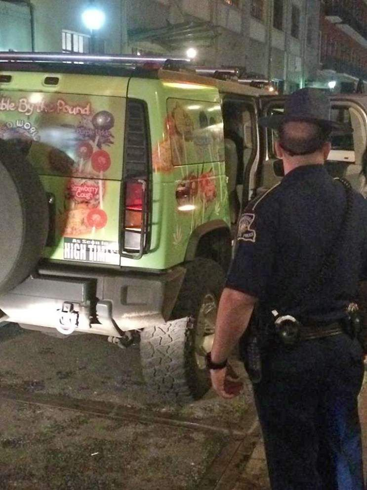 """Two Alabama men arrested for selling """"weed candies"""" on Bourbon Street _lowres"""