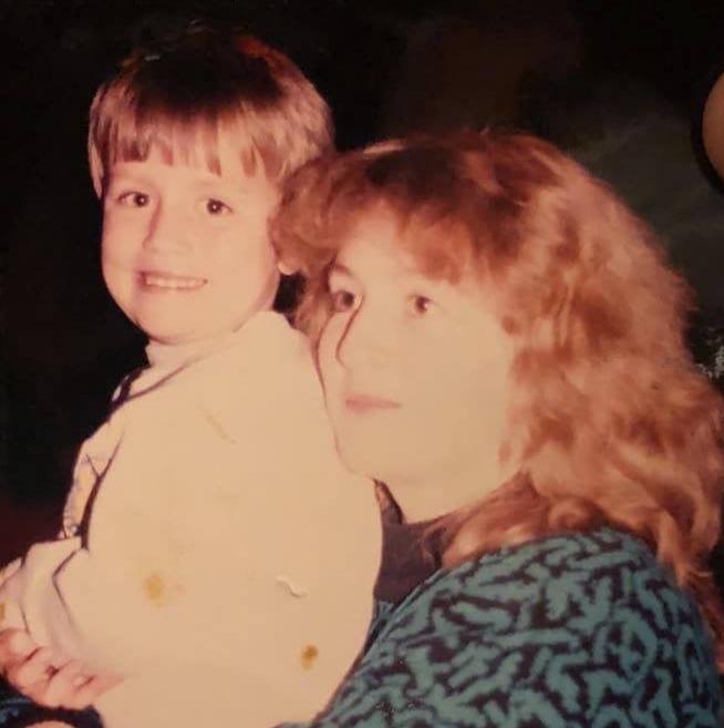 Karl and mom 2