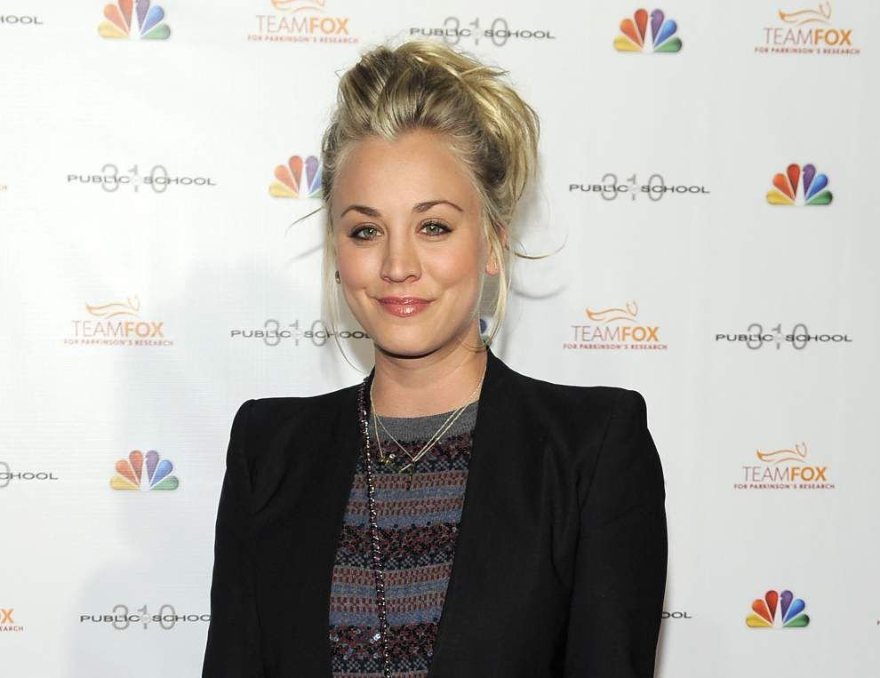 'Big Bang Theory' star Kaley Cuoco gets married _lowres