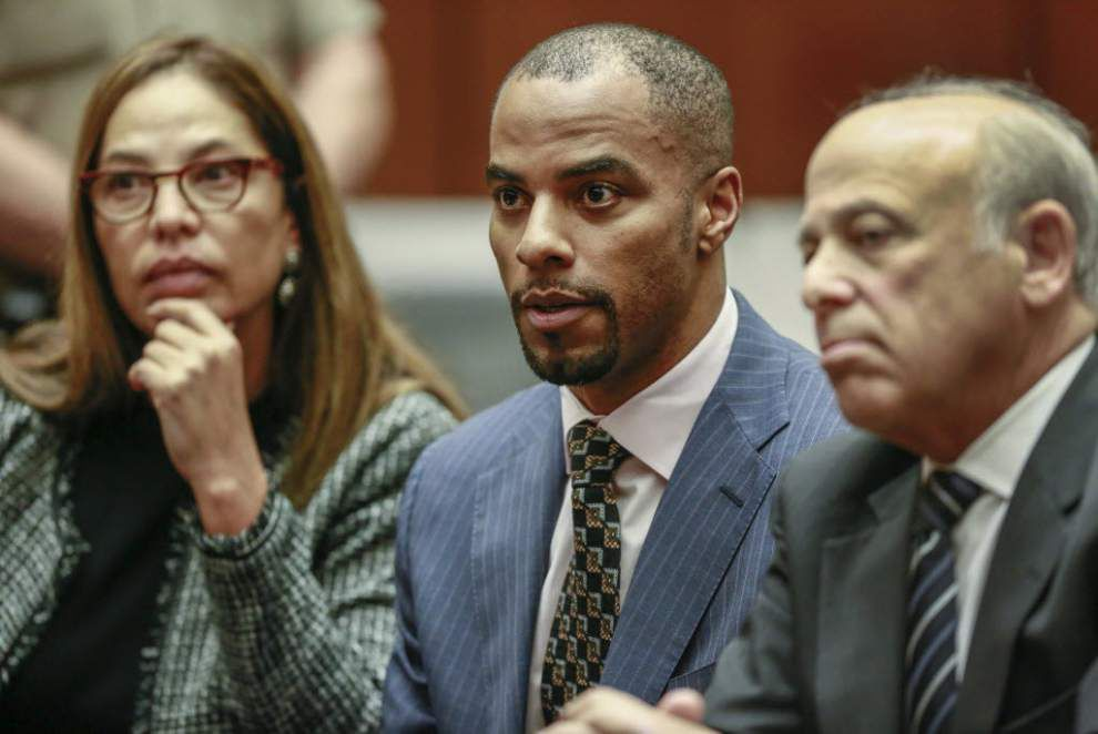 Federal judge rejects Darren Sharper plea deal Thursday, calls prison-sentence length 'inappropriate' _lowres