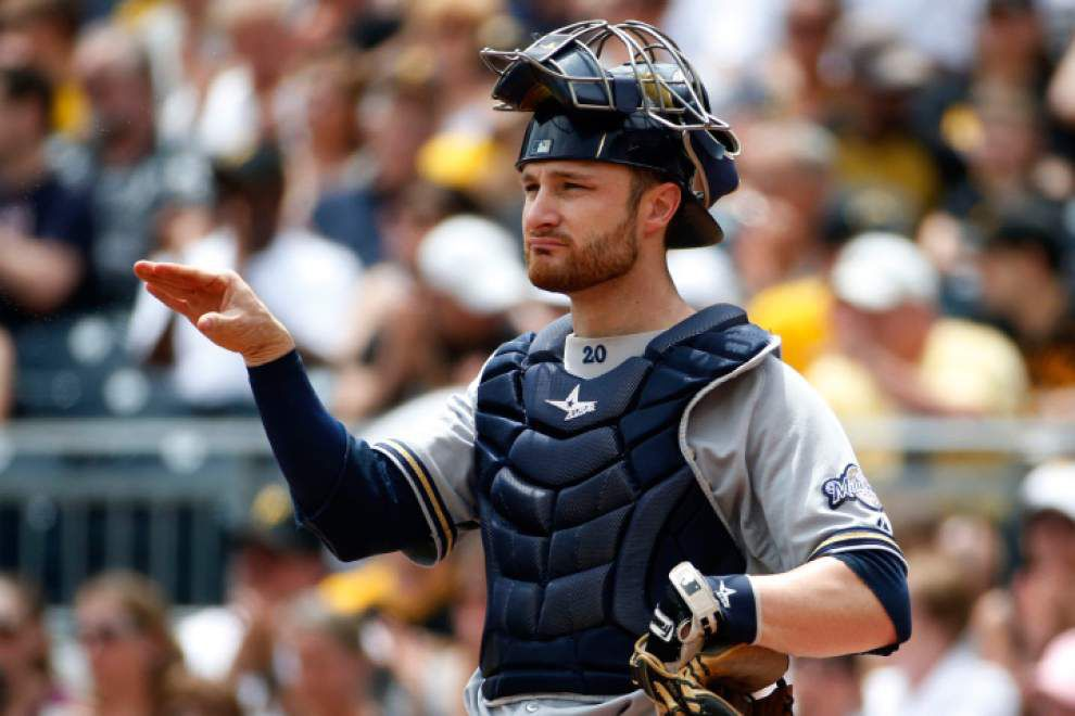 Jonathan Lucroy rides consistency to spot as NL All-Star starter _lowres