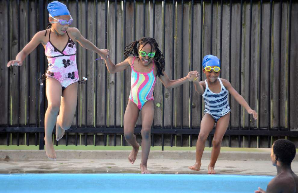 BREC report shows most children taking swim lessons in East Baton Rouge Parish lived in 70805, 70802 _lowres