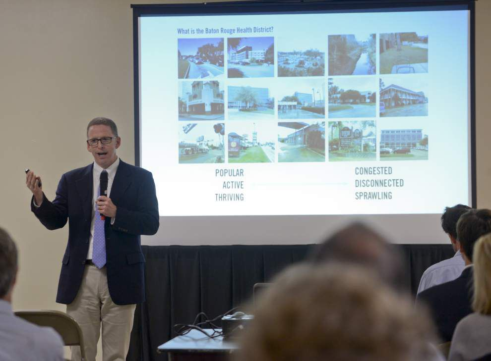 Consultants working on new Baton Rouge health district say traffic flow must improve _lowres