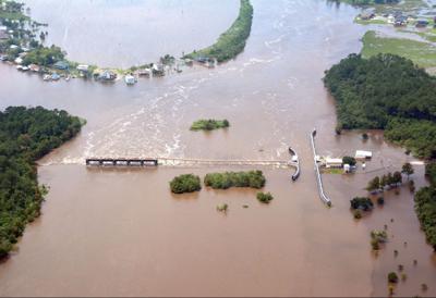 Civil Air Patrol captures photos of Harvey's effects in southwest Louisiana