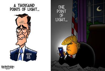 Walt Handelsman: Points of Light