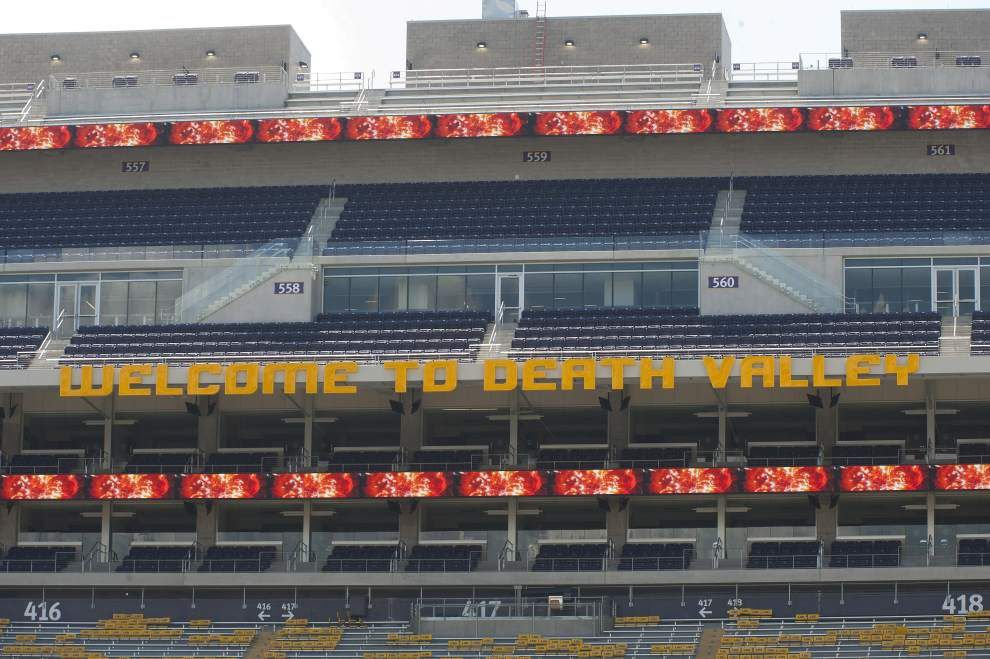 LSU's Tiger Stadium now looms larger than ever _lowres