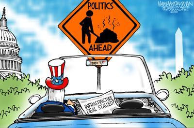 Walt Handelsman: Beltway Backup...