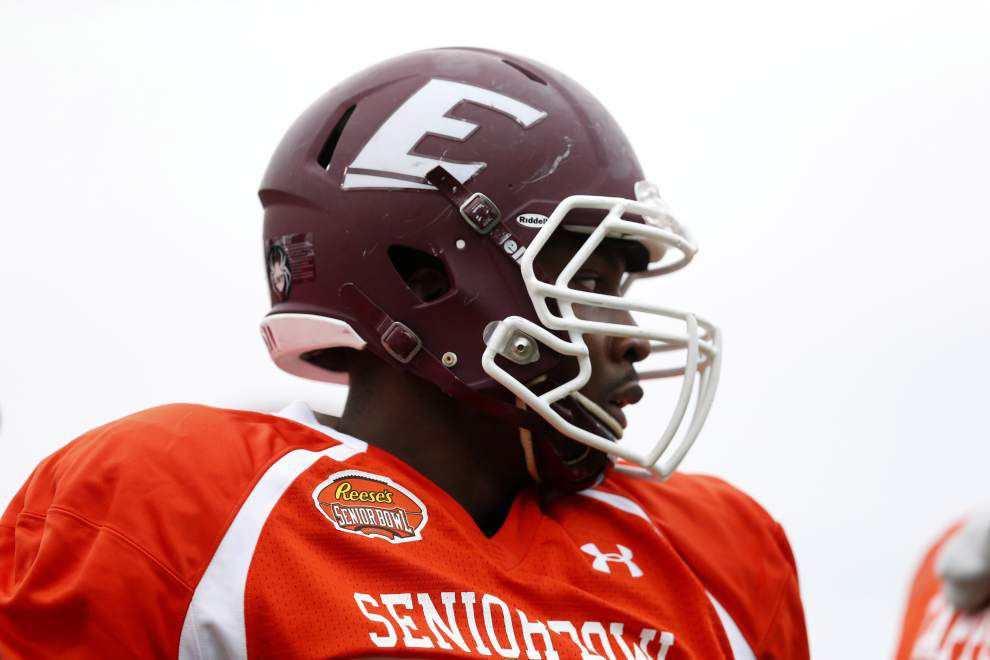 Saints dine with DE Noah Spence, one of more talented, polarizing players in NFL draft _lowres