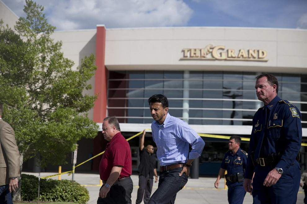 James Gill: Louisiana Governor Bobby Jindal used the Lafayette shooting tragedy for cheap theater _lowres