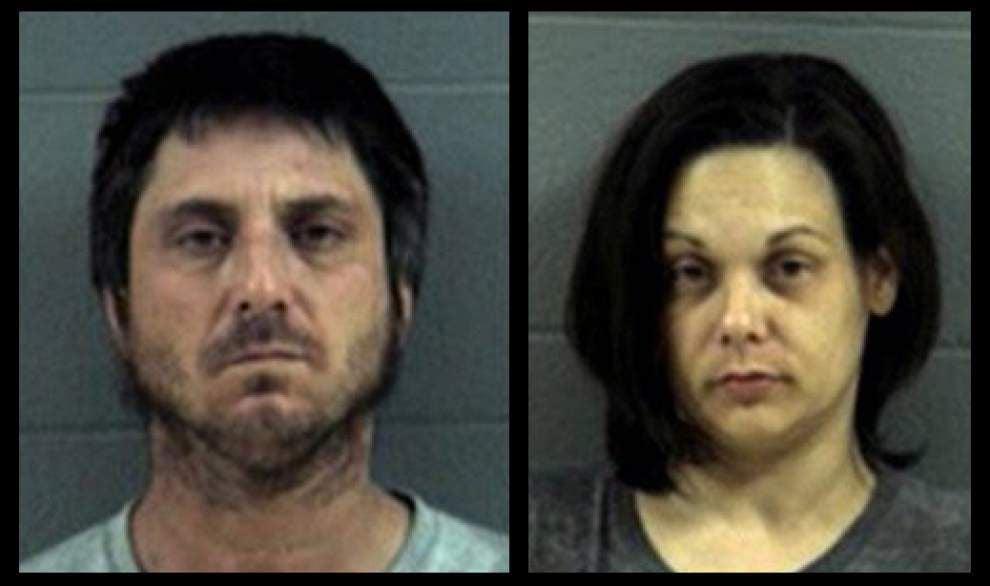 Denham Spring couple accused of operating meth lab _lowres