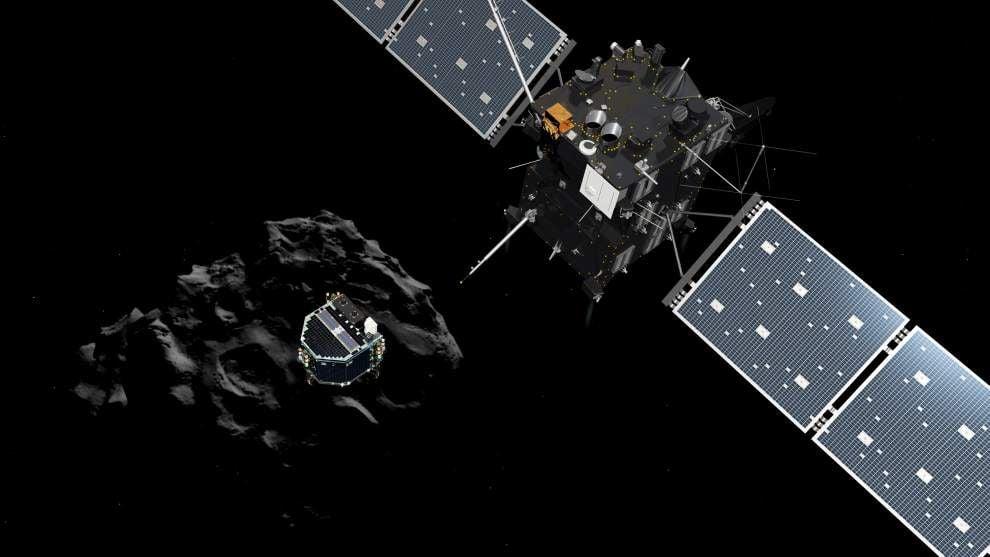 Cosmic first: European spacecraft lands on comet _lowres