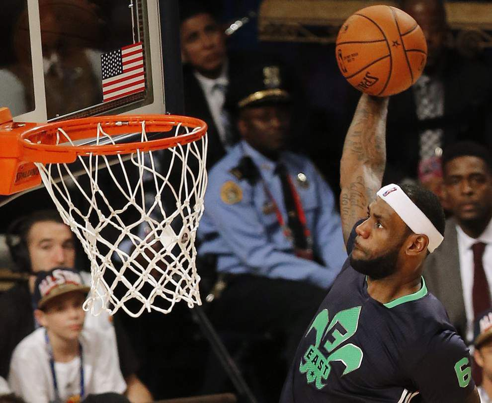 East defeats West, 163-155, in NBA All-Star game _lowres