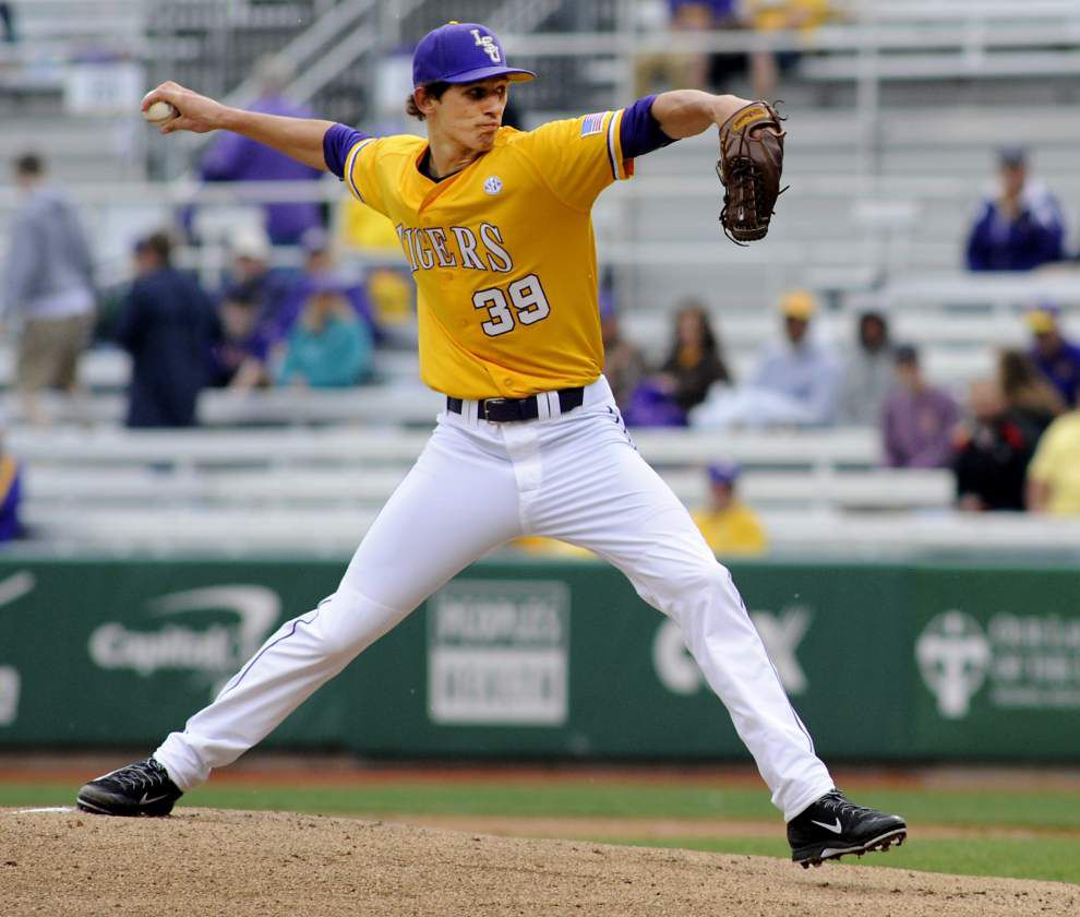 Video: Mainieri credits LSU bullpen in tie with Georgia _lowres
