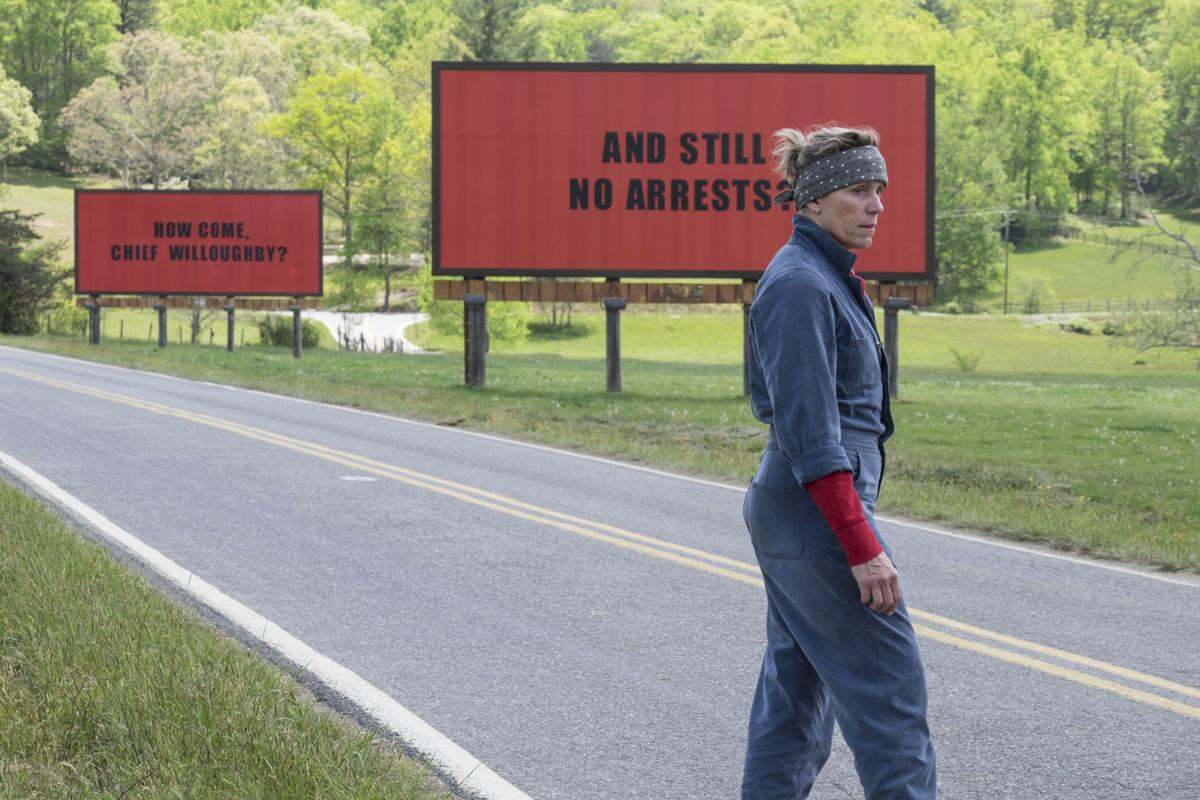 'Three Billboards Outside Ebbing Missouri' still 1 for Red