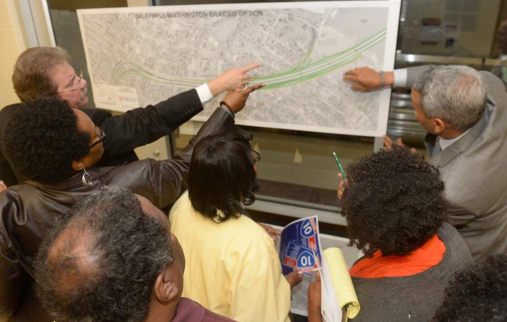 New hearings open on push to widen I-10 in Baton Rouge, many concerns over $350 million price tag, construction time remain _lowres