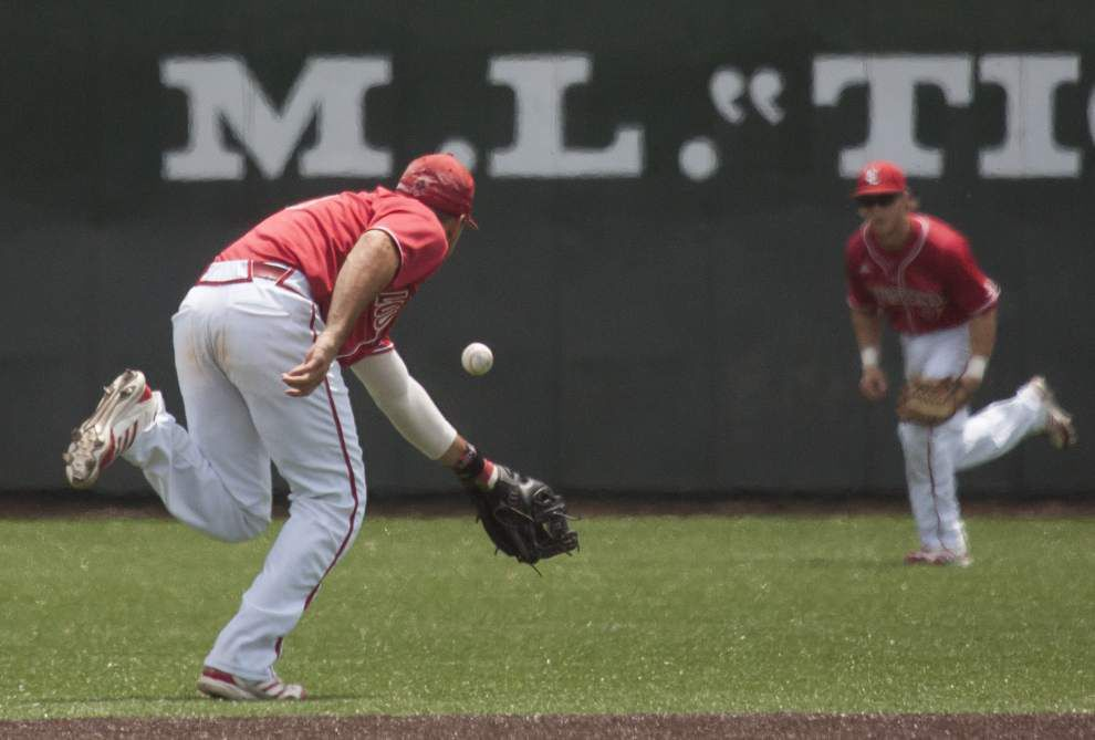 Cajuns rally in 8th inning to beat South Alabama 3-2 on Senior Day _lowres